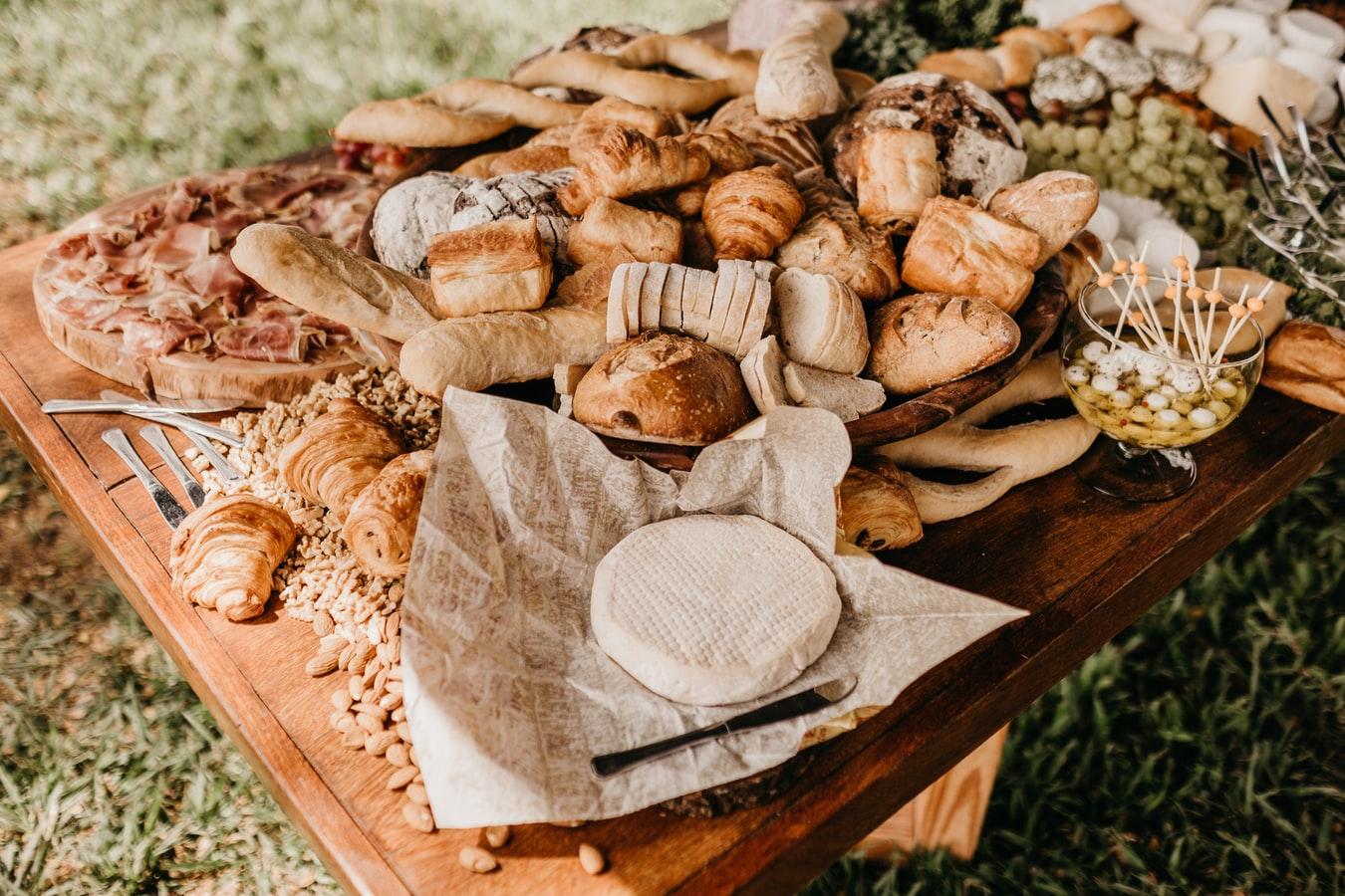 色んな種類のパン