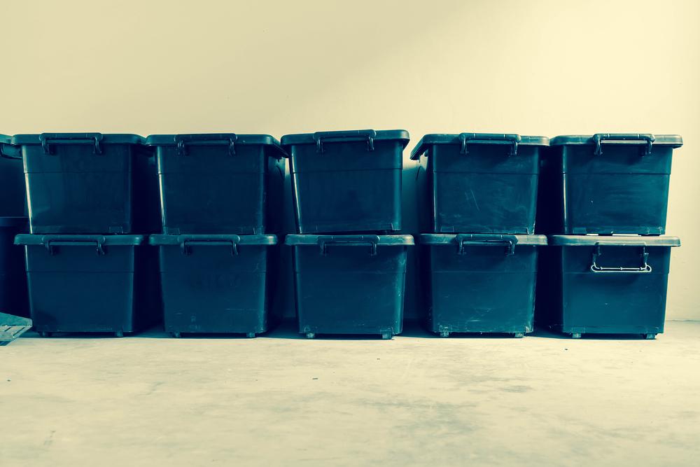 積み重なったボックス