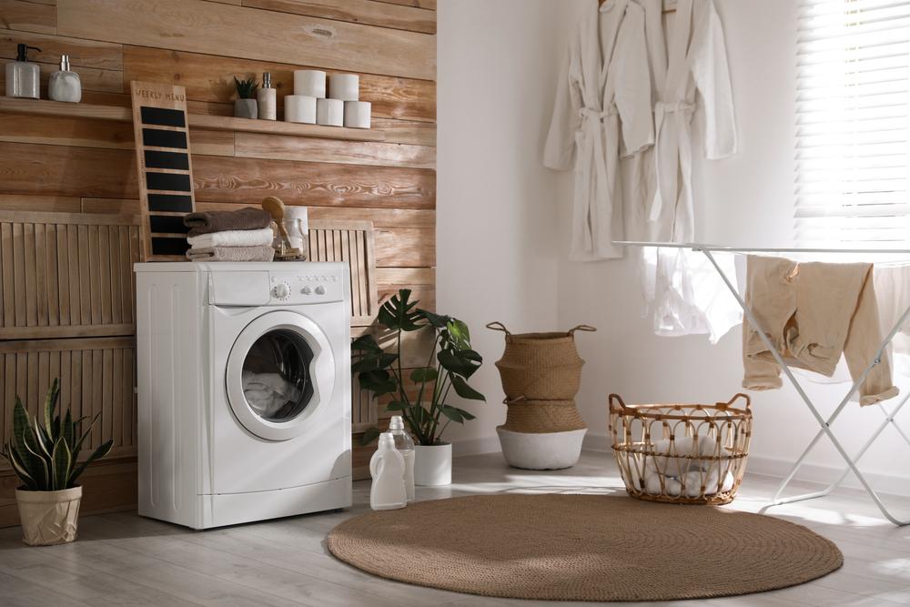 洗濯機とおしゃれインテリア