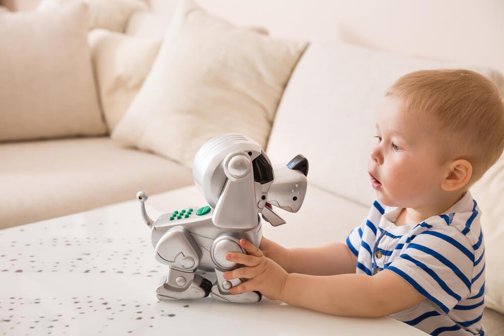 ペットロボットと子ども