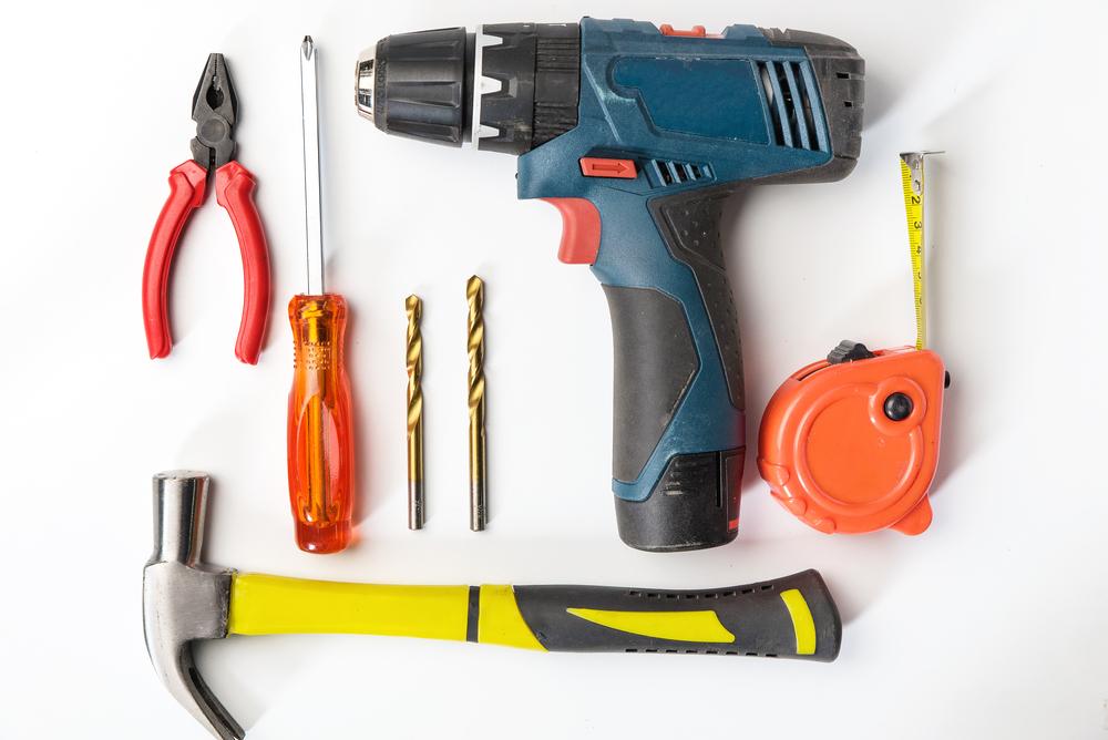 DIYに必要な工具一式