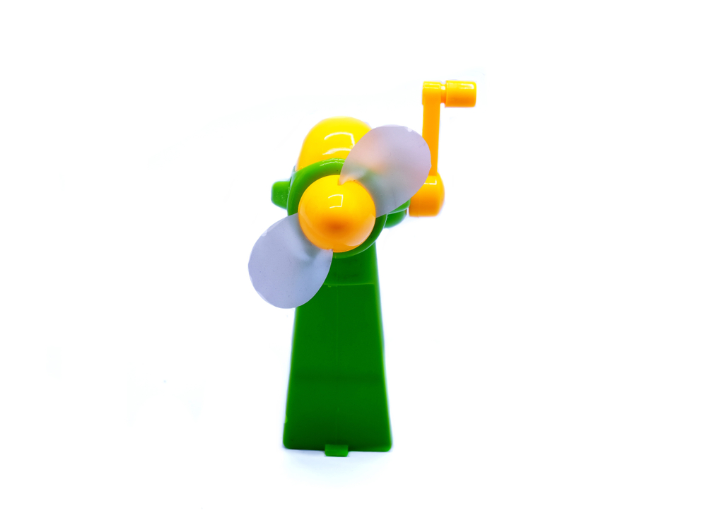 手動のハンディ扇風機