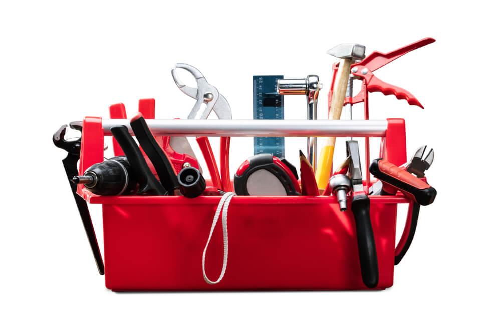 赤の工具箱