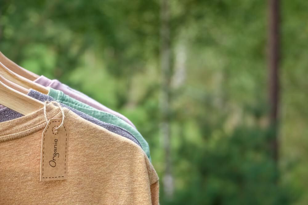 オーガニック素材の衣服