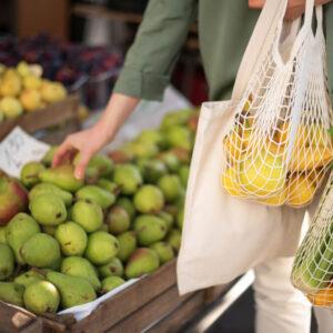 ダイソーのエコバッグがおしゃれで使えると話題♡便利な収納アイデアも紹介